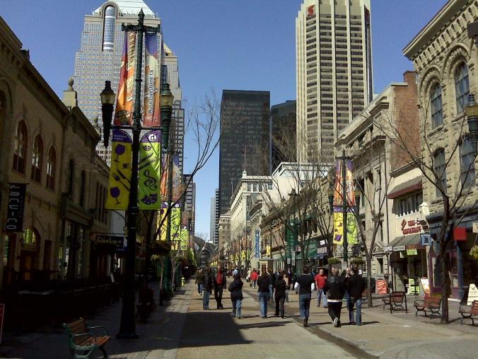 Calgary street view 2