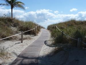 Towards the beach - Miami