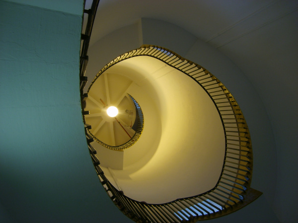 Winding stairs