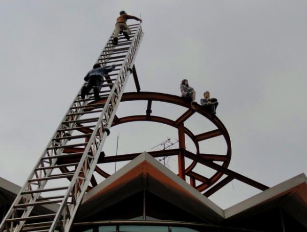 rescuers D Stewart