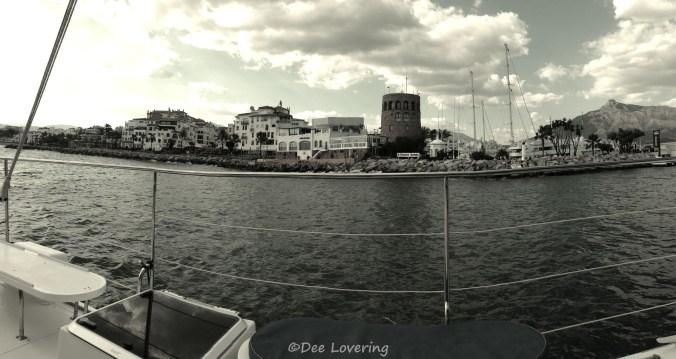 Boat from Puerto Banus