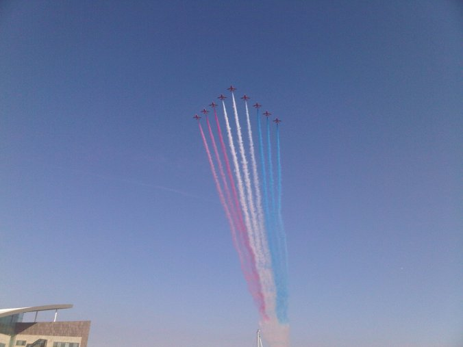 Red Arrows Cardiff Bay