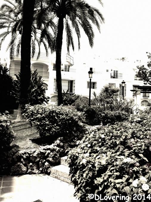 Black & white street